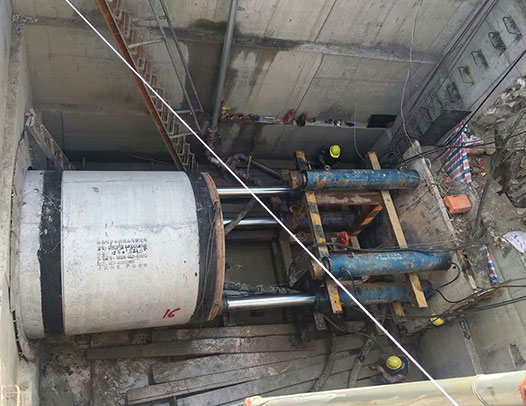 construction of Balanced Pipe Jacking Machine
