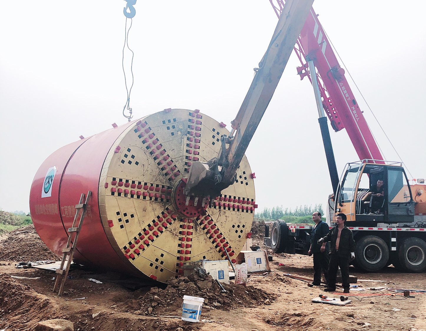 Construction of Pipe Jacking Machine factory
