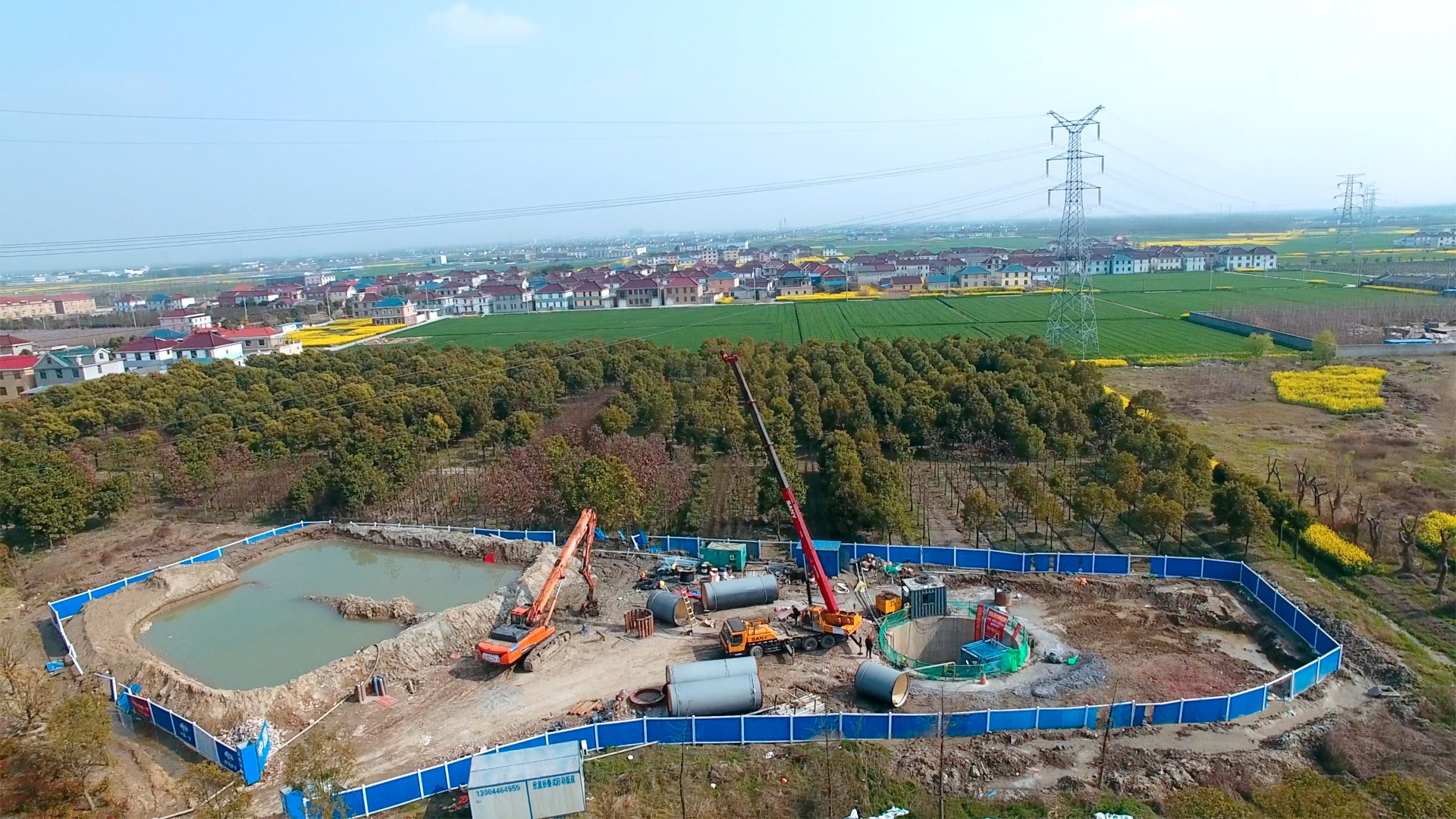 Congratulations on the breakthrough of the drinking water project with 520M for a 2200mm steel pipe in Taizhou.