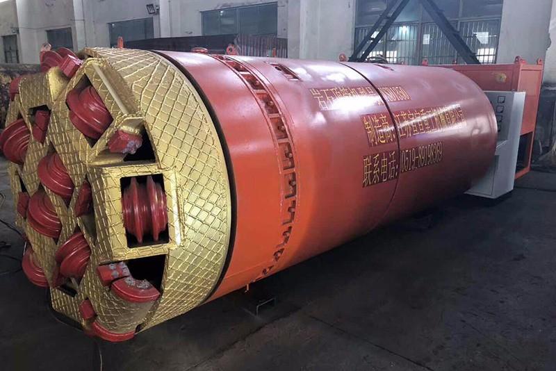 Φ2400 rock pipe jacking machine