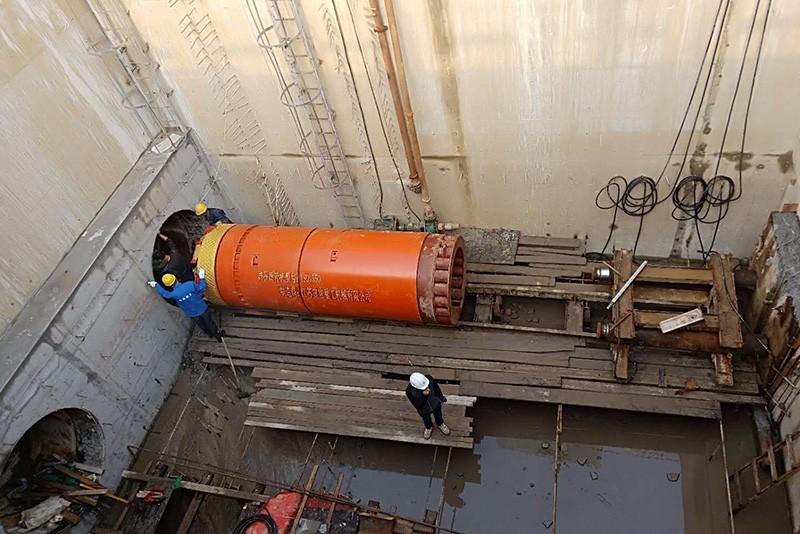 Φ1650 rock pipe jacking machine